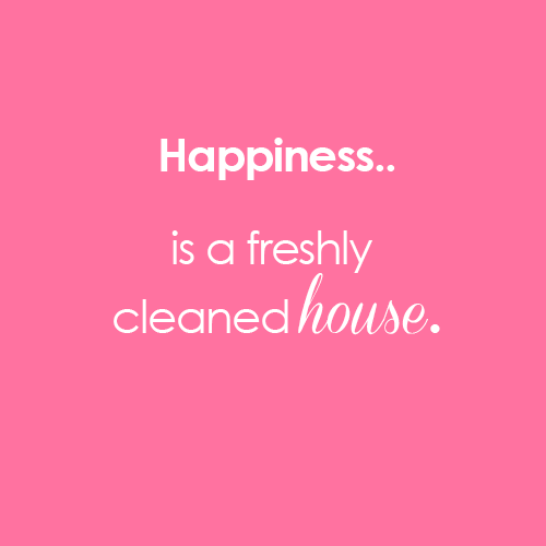 Clean house. Nothing makes us happier   CleanHome  Happiness  MidasMaids