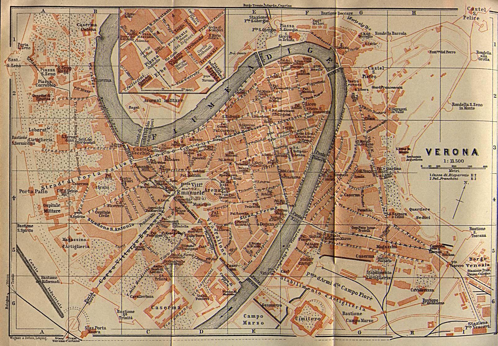 Pin By Marina Shelton On Verona Italy Italy Map Verona