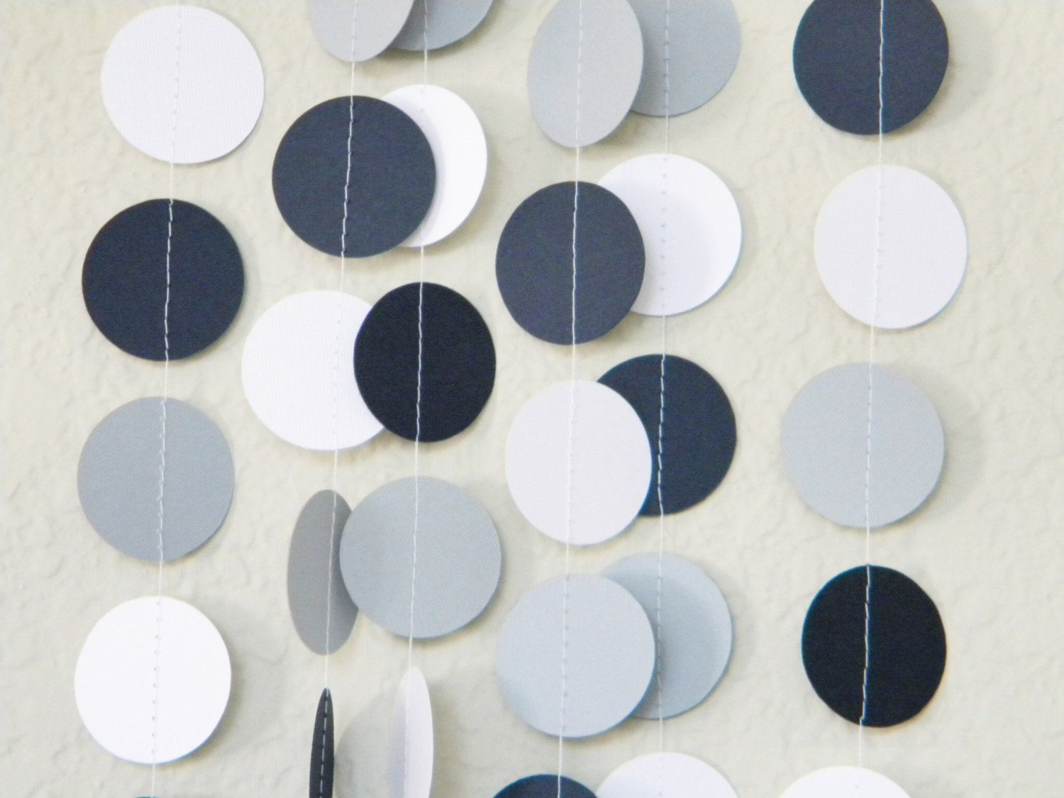 Nautical Navy Blue Gray and White Home Decoration by TheKraftRoom ...