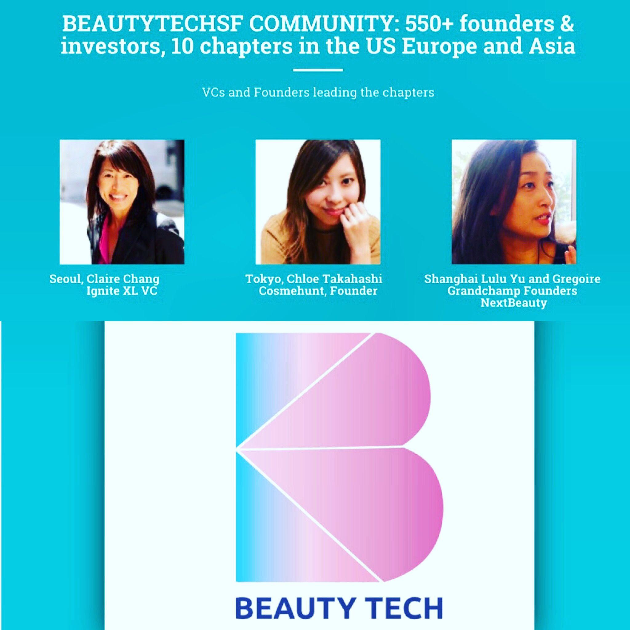 BeautyTech Asia Seoul Shanghai Tokyo and community