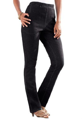 d61fe6585db Roamans Women s Plus Size Straight Leg 2-Pocket Leggings for only  49.56  You save   7.00 (12%)
