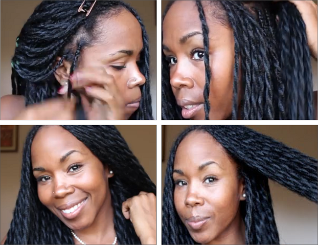 Simple Protective Style – Long Twists Tutorial