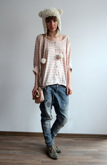 authorized site delicate colors reliable quality Baggy clothes. Love | The way I am | Fashion, Style, Baggy ...