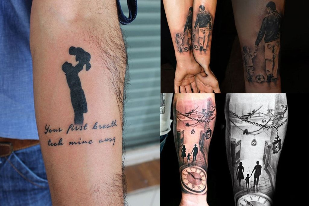 Father And Son Tattoos Ideas | Tattoo for son, Father son ...