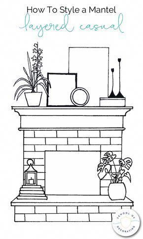 Room Design Inspiration Smallroomdesign Fireplace Mantle Decor Mantel