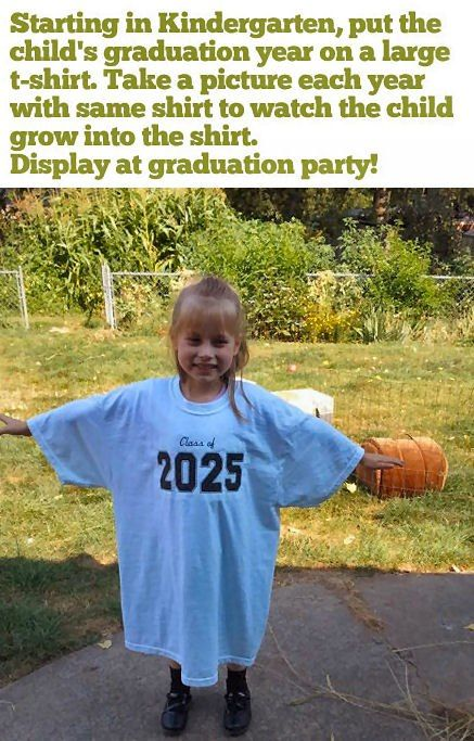 Class Of 2025 Love This Idea Kids Graduation Kids Parenting