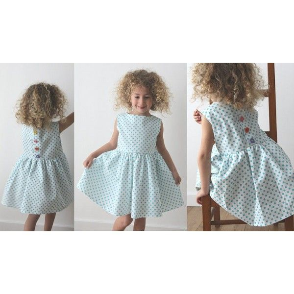 patron couture fille 8 ans