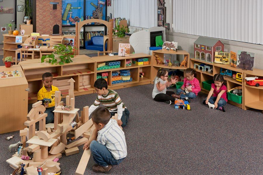 Germany Quality Childcare Furniture Daycare Furniture Childcare Block Area