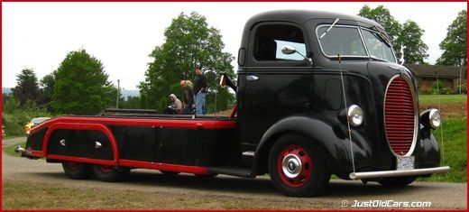 Awesome 1938 Ford Coe Car Tandem Axle Car Hauler Cool Rides