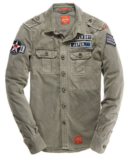 cheap prices shopping compare price Mens - Delta Shirt in Flatland Grey   Superdry   Style ...
