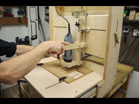 Clever Homemade 3D Router Table | Make: DIY Projects, How