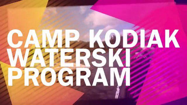 Missing Summer? Get a taste of our water-ski program at Camp Kodiak!
