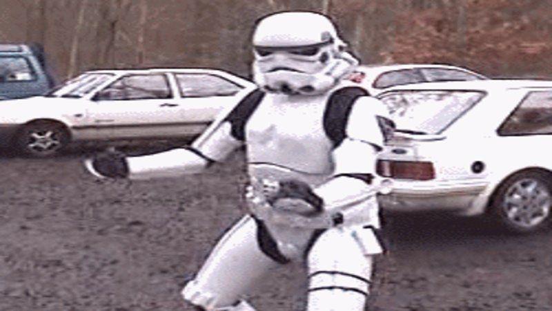 Dancing Stormtrooper Dancing Stormtrooper Stormtrooper Funny Gif
