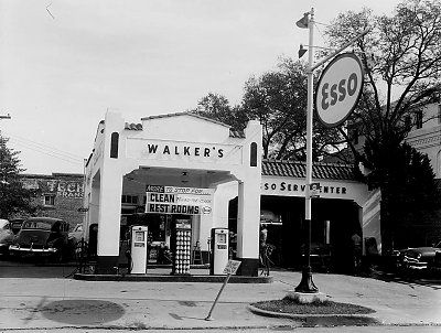 Gas Prices Okc >> vintage service stations | Historic: Walker's Service Station once stood between the warehouse ...