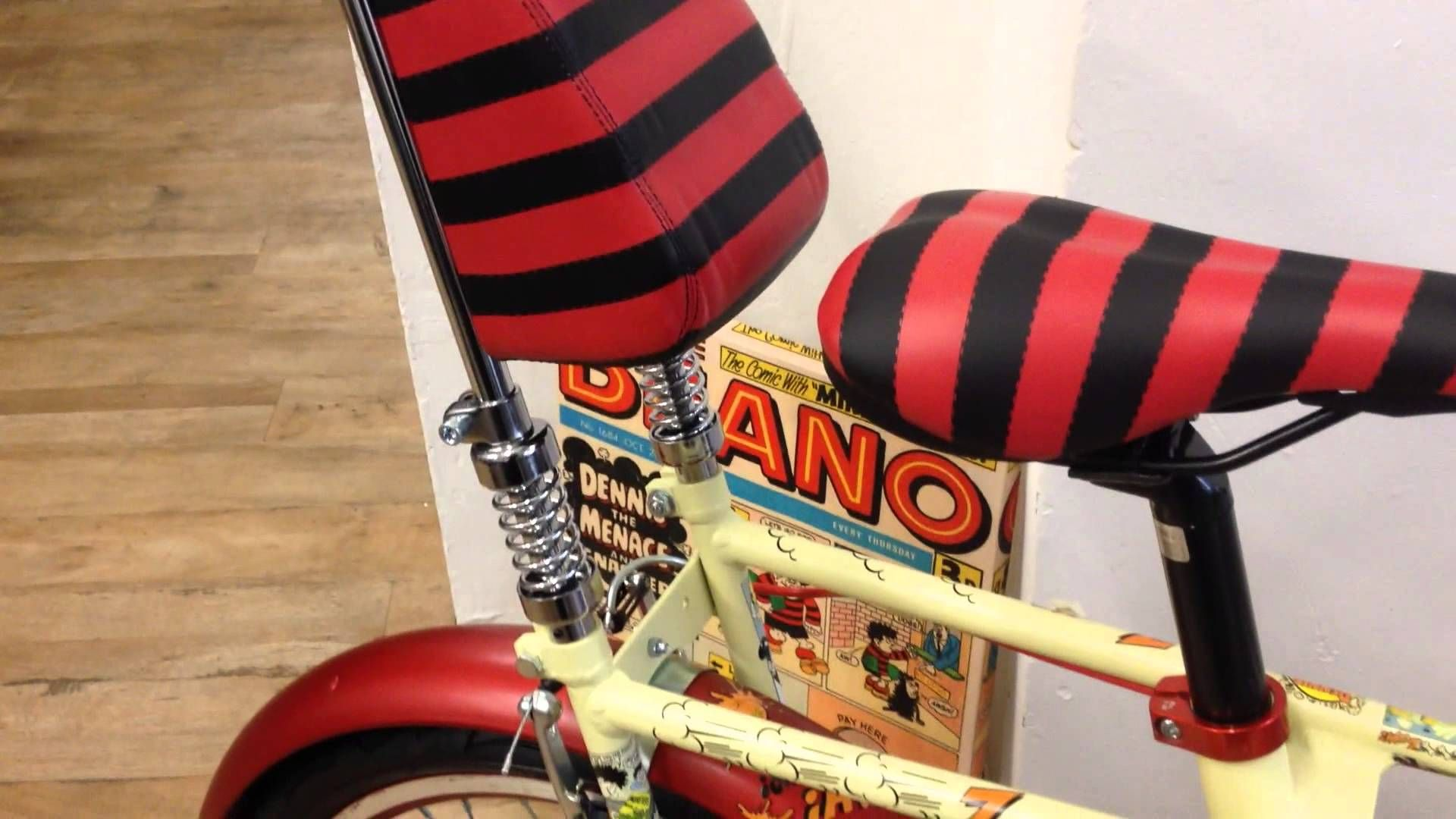 Raleigh Chopper Beano Limited Edition Dennis the Menace 2014 | Geeky
