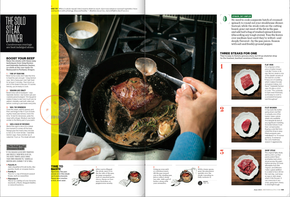 Health magazine recipes