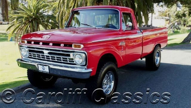 1966 Used Ford F250 3/4 Ton at Cardiff Classics Serving ...
