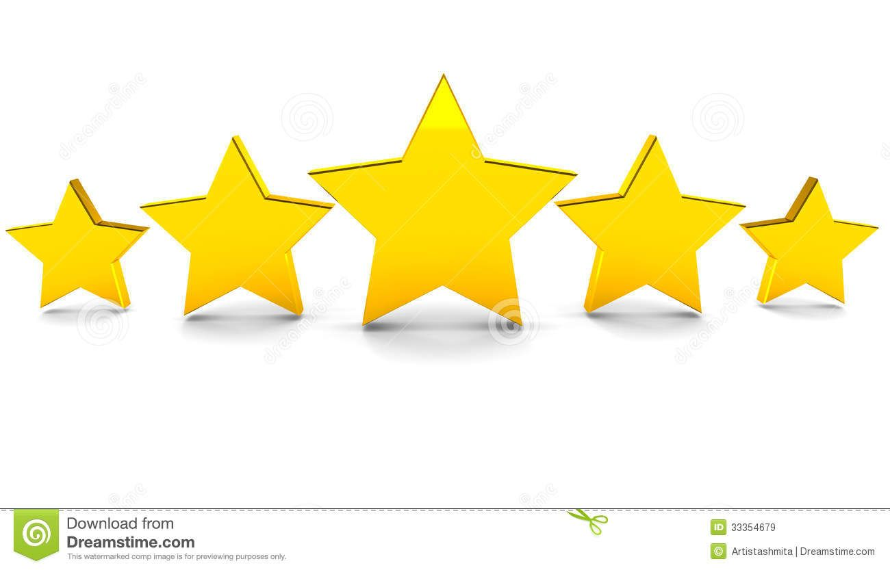 Five Stars Stock Images Free Illustration Stock Illustration