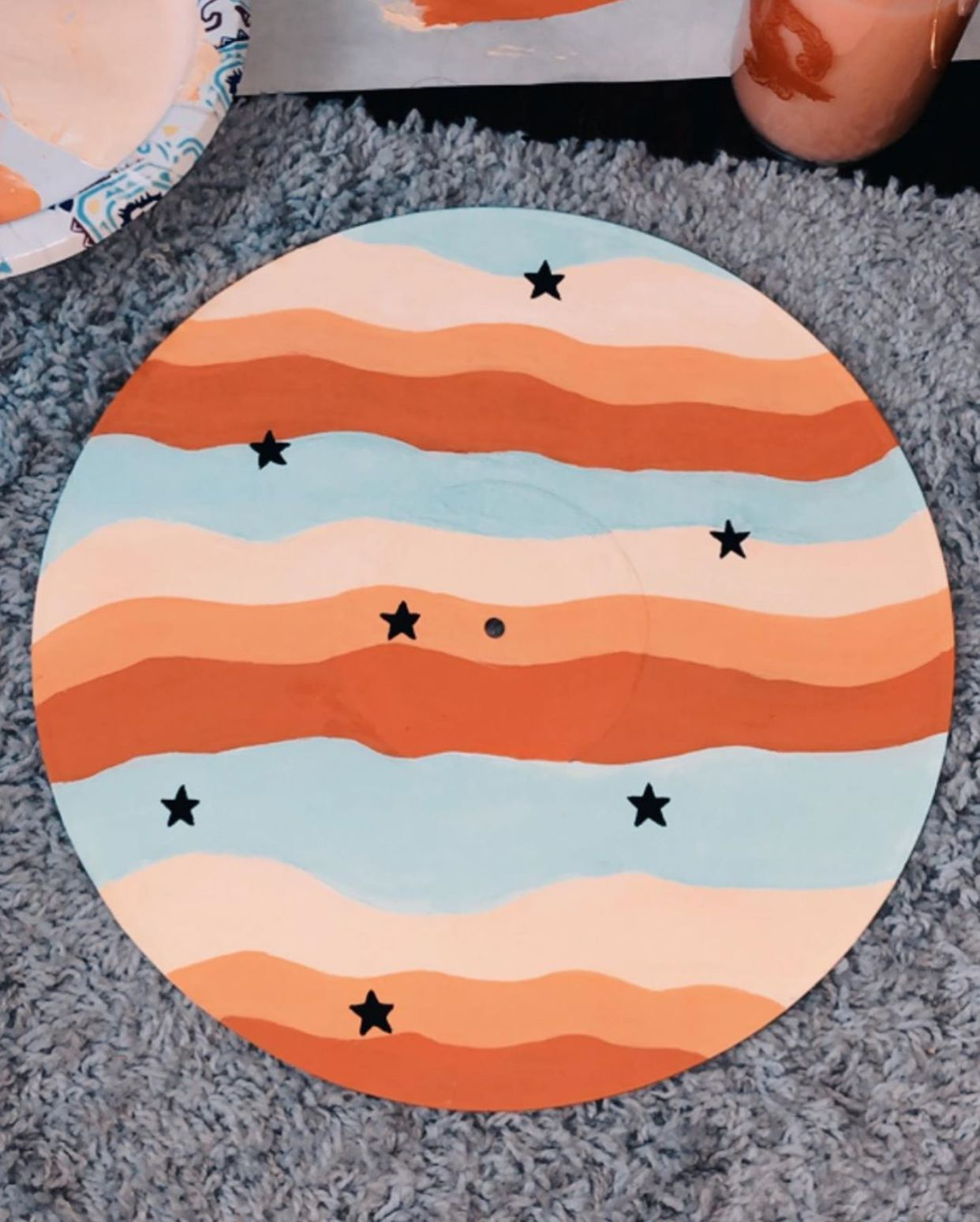 Bathroom Ideas Decor Pinterest In 2020 Cute Canvas Paintings Vinyl Art Paint Cute Paintings