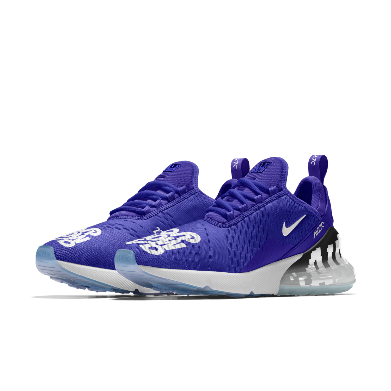 Die nagelneuen Nike Air Max 270 iD Optionen sind der