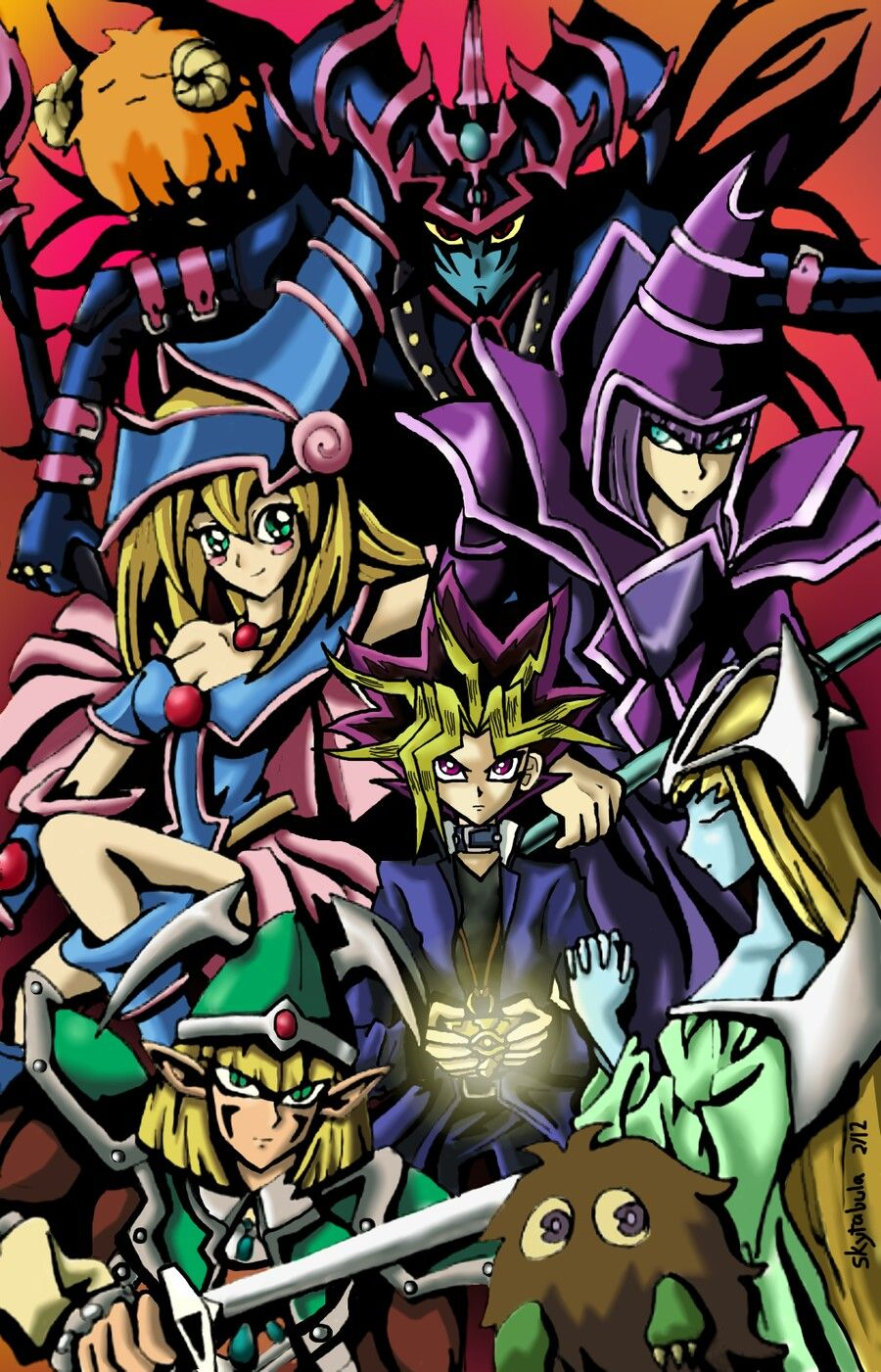 It's here just because it gives me nostalgia Yugioh