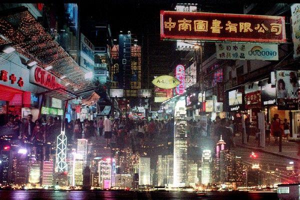 Davide Bramante - Hong Kong skyline a piedi