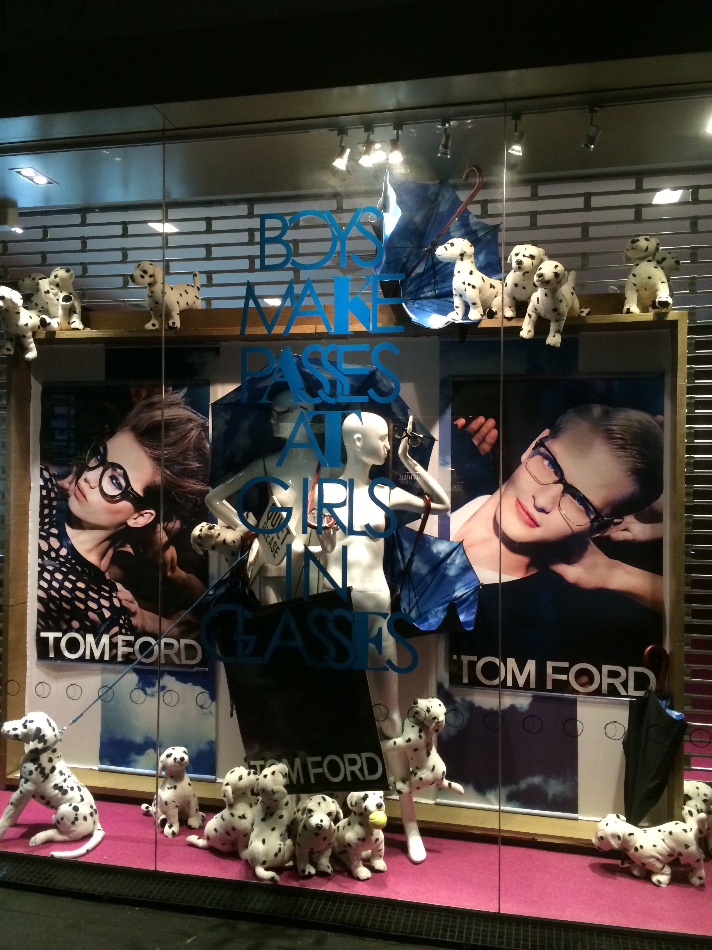 Boys Make Passes At Girls With Glasses Part1 At Occhiali Newmarket Auckland New Zealand For Tom Ford Eyewear Crea Eyewear Display Tom Ford Tom Ford Eyewear