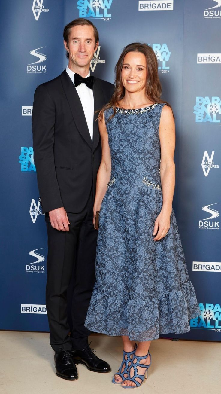 Pippa Middleton.. Erdem Heta organza-cloqué dress..... - Celebrity ...