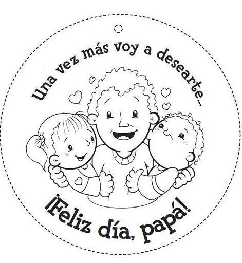 Día de Padre tarjetas para imprimir y colorear gratis | Stamps ...