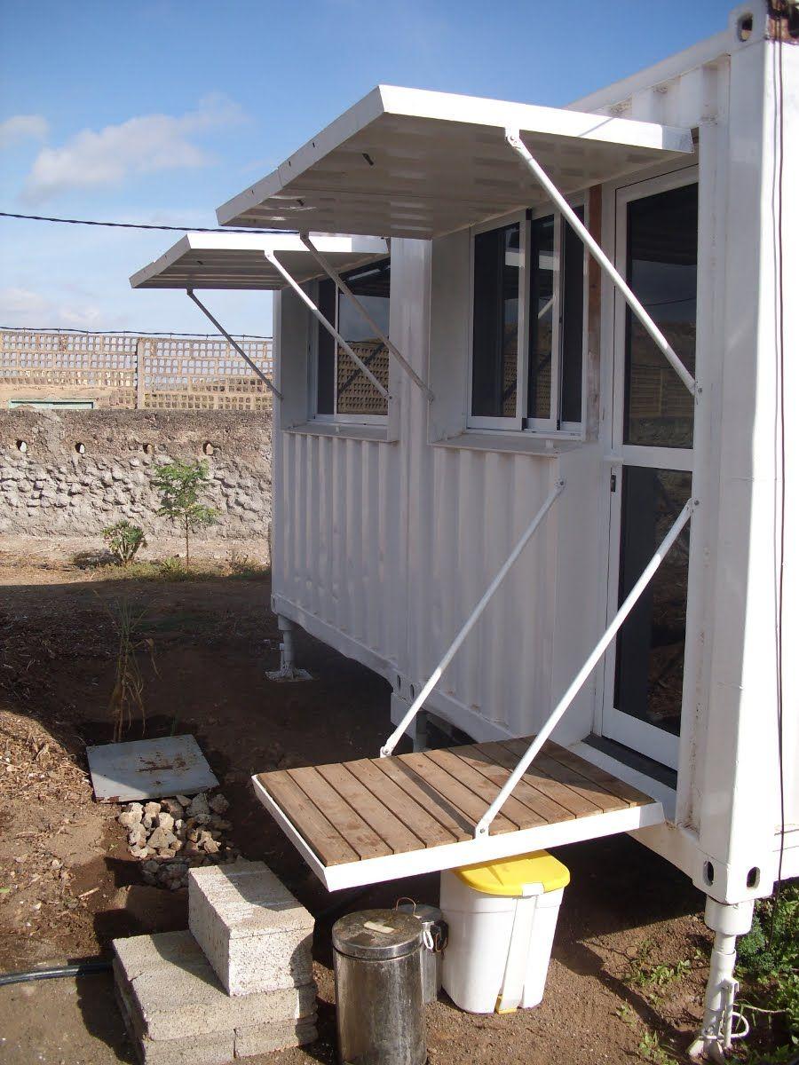 Habitar containers habitainer horc n casa de playa - Casas prefabricadas de contenedores ...