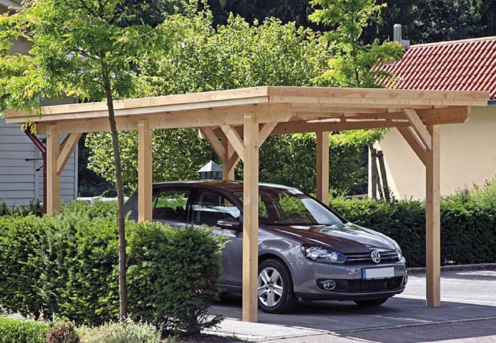 "Modell ""Rügen 2"" Carport bauen, Carport, Carport selber"