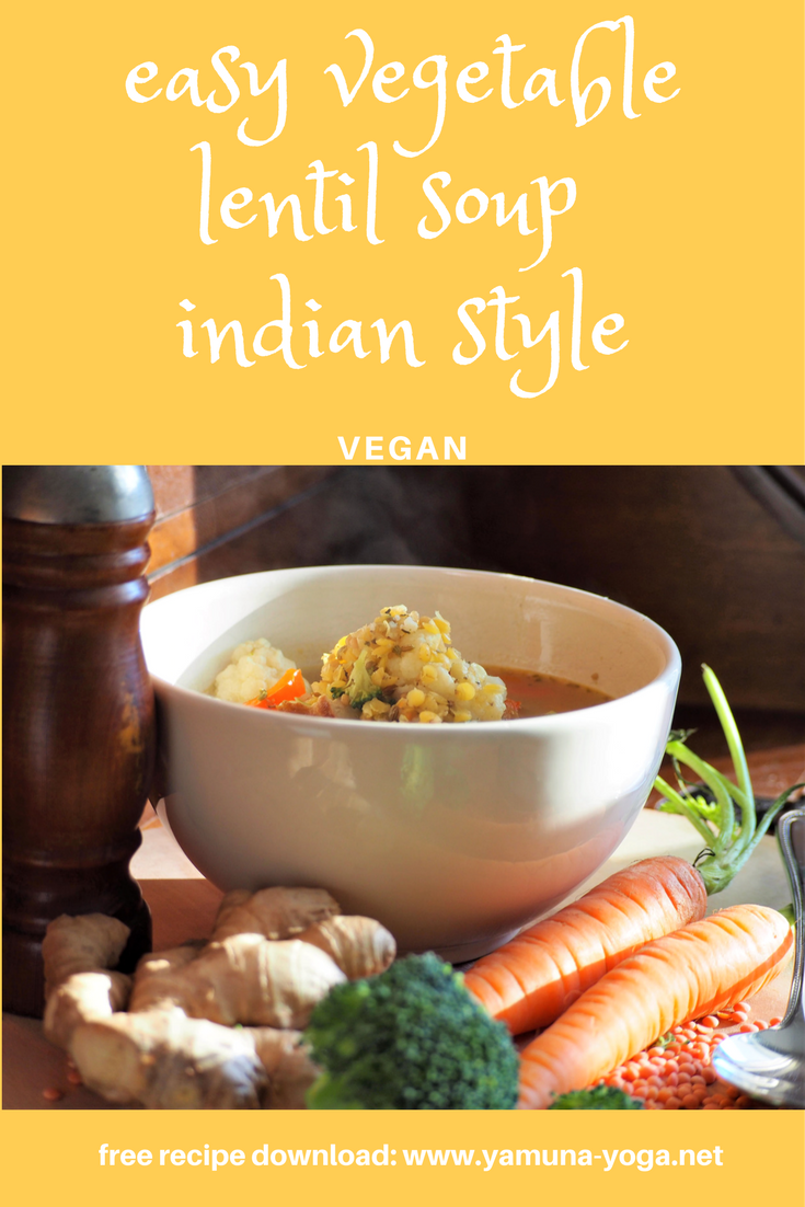 Easy cheap lentil vegetable soup indian style vegan healthy and food forumfinder Choice Image