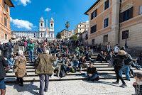 Spanische Treppe, Piazza di Spagna, Rom