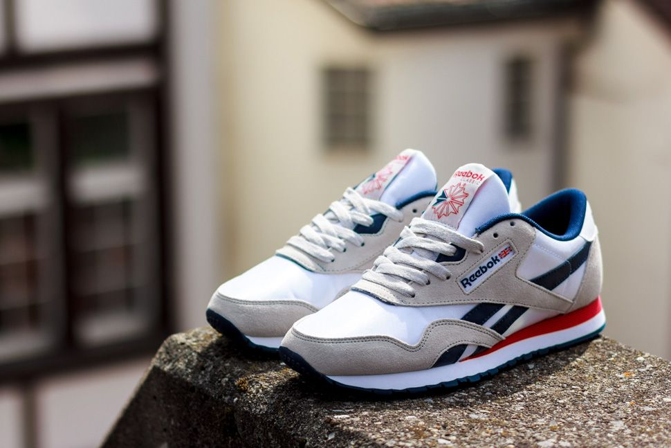 pretty nice 6fb88 149d1 Reebok has a strong lineup of the Classic Nylon this season. Included in  the spring summer 2014 range of the retro runner is this visually pleasing  blend of ...