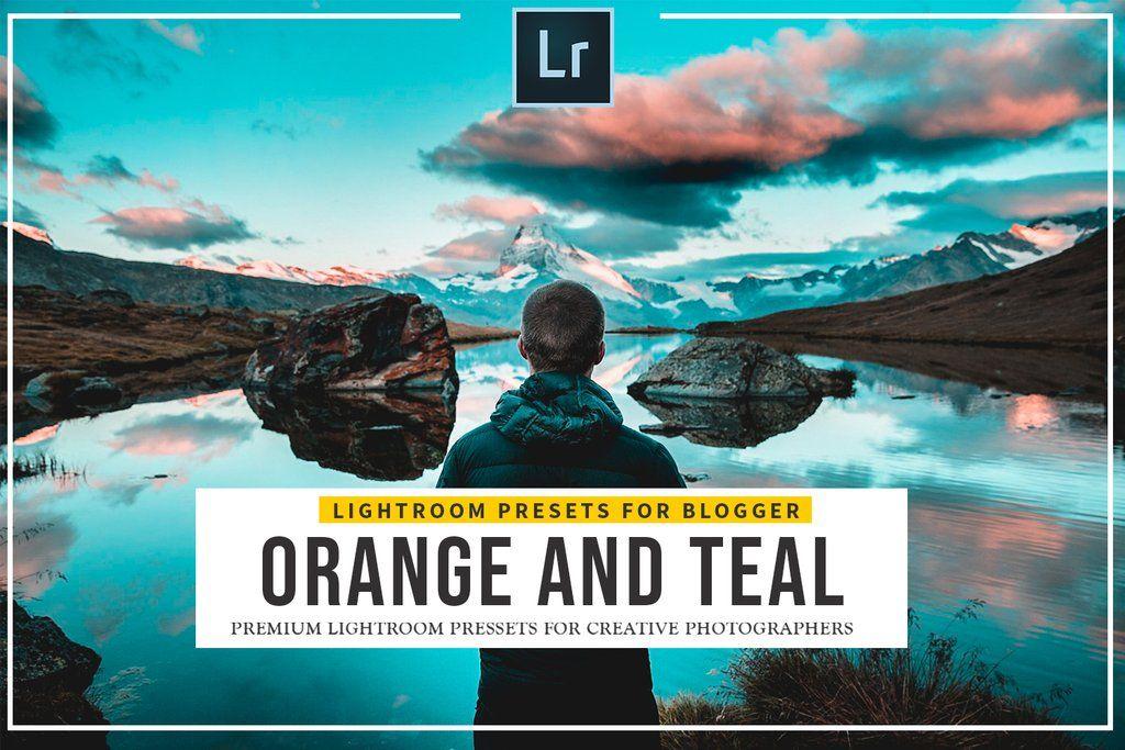 30 Orange & Teal Lightroom Presets (Graphic) by Presetsh