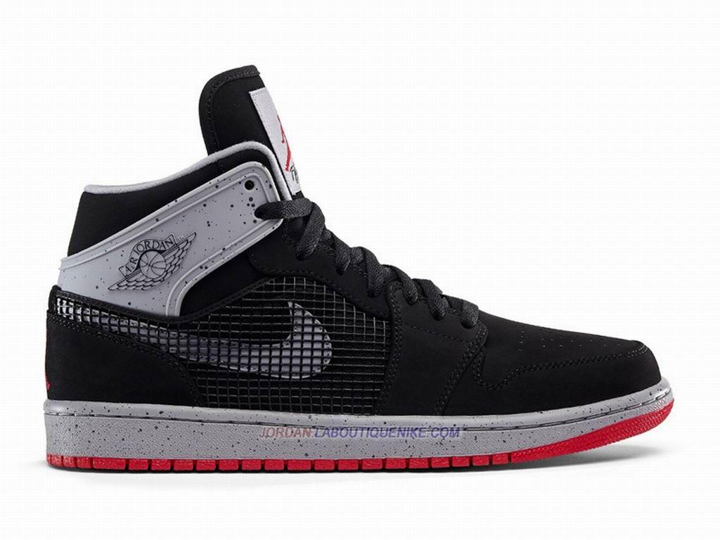 fb90d0ae77d1 Chaussures NIke Basketball Pour Homme Air Jordan 1 AJ1 Retro ´89 Noir  599873-003