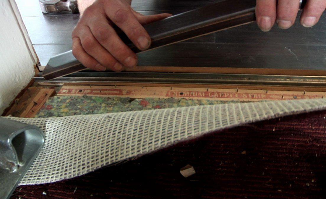 Laminate Flooring to Carpet Transition Elegant How to ...
