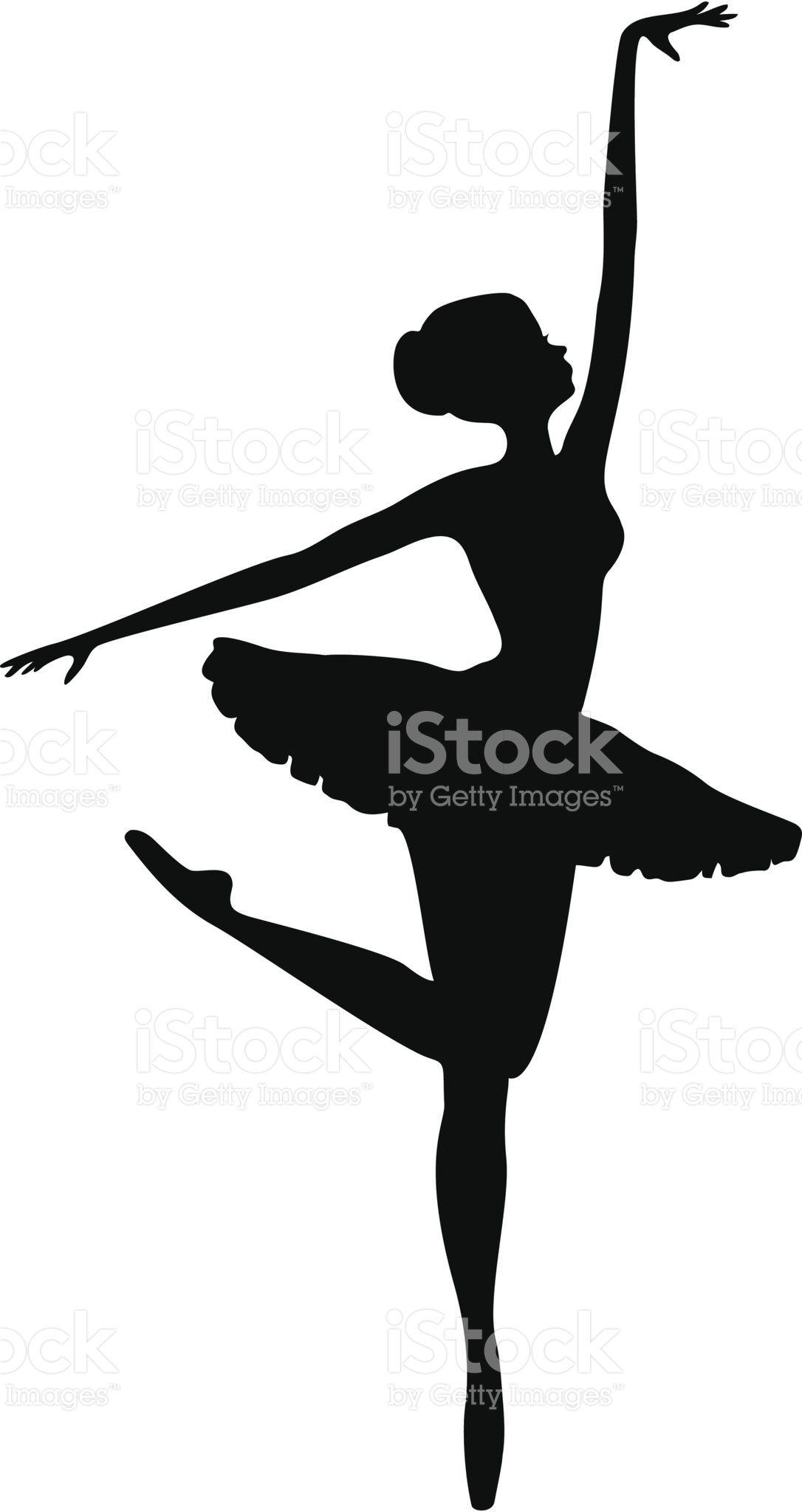 Energia Bailarina Danca Silhueta Silhueta De Bailarina Pintura