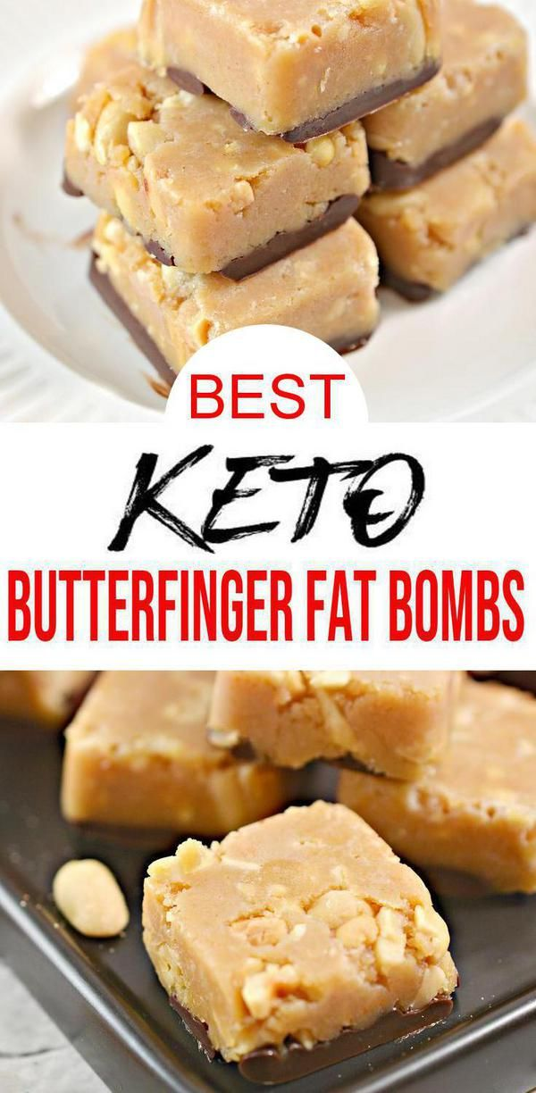 BEST Keto Fat Bombs! Low Carb Keto Butterfinger Candy Fat Bombs Idea – No Bake – Sugar Free – Quick & Easy Ketogenic Diet Recipe – Completely Keto Friendly #ketodessert