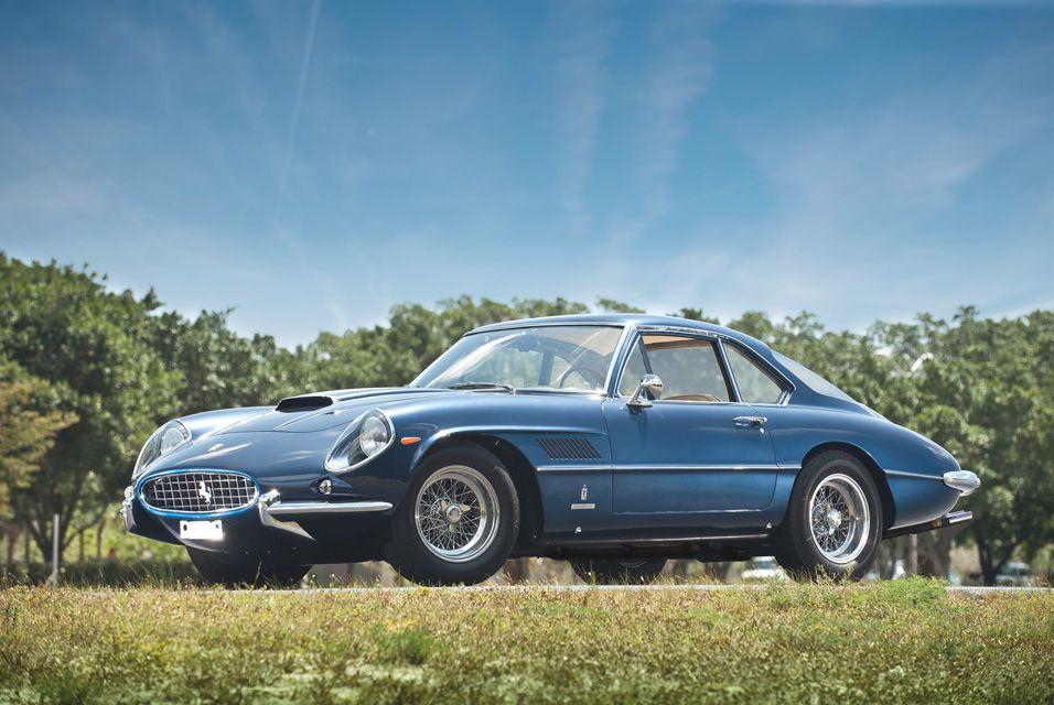 1962 Ferrari 400 Superamerica SWB Coupe by Pininfarina. Photo: Darin Schnabel ©2011 Courtesy of RM Auctions.