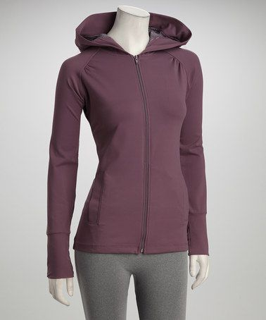 Take a look at this Fig Ever Zip-Up Hoodie by Carve Designs on #zulily today!