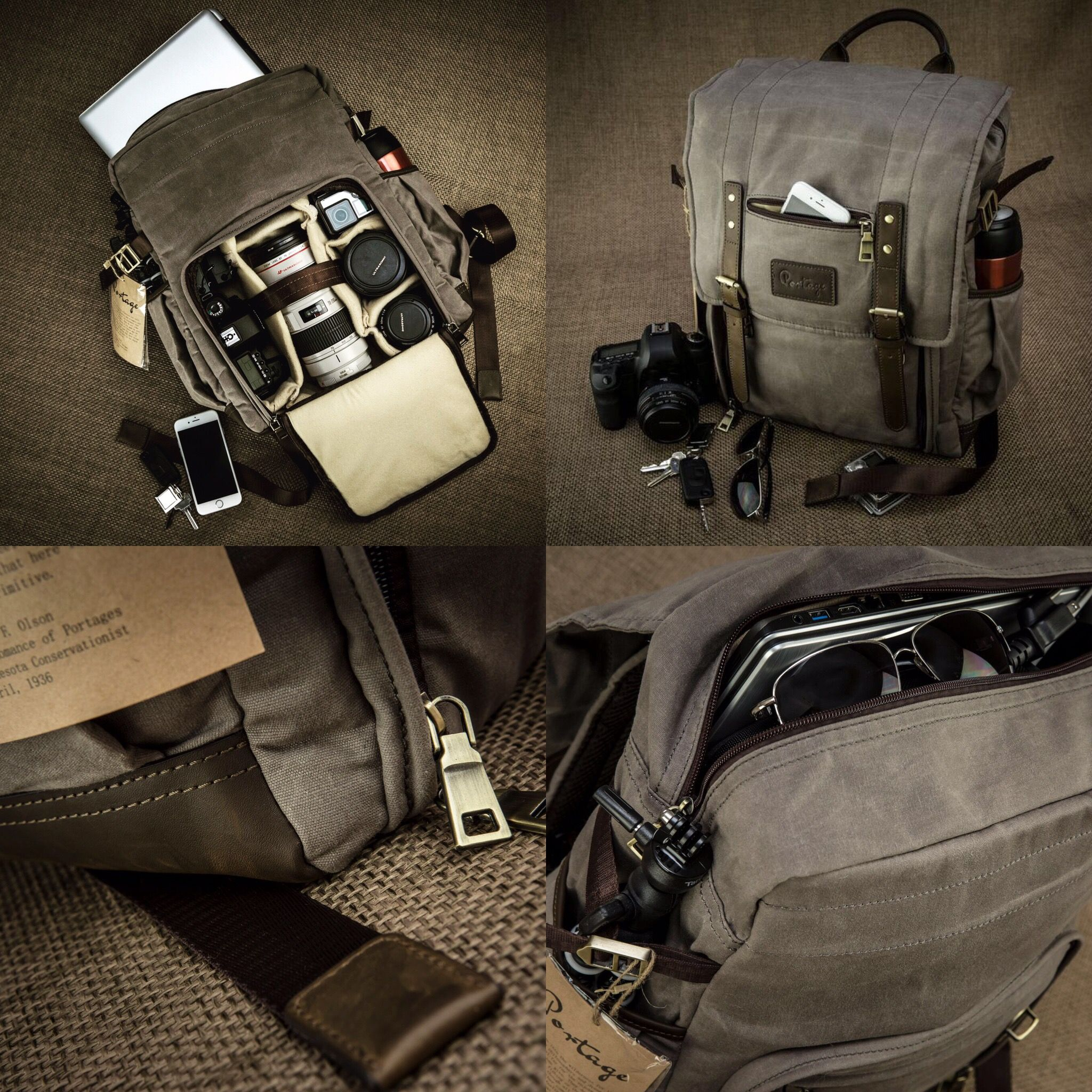 d4391cc6219ba Generation 3 Kenora Camera Backpack, now with SIDE ACCESS! Carry plenty of  camera gear, laptop, and personal items in style!