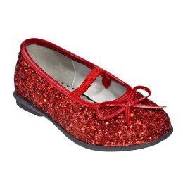 Red dress shoes, Little girl shoes, Red