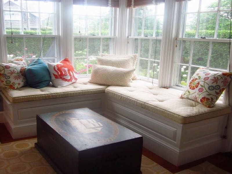 Corner Window Seat Designs Ideas Window Retreat