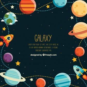 Image result for space illustration Ilustração do espaço