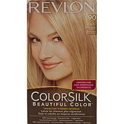 Revlon Colorsilk Very Light Ash Blonde #90 Hair Color (Pack of 2 ...