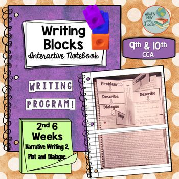 This is the 2nd 6 weeks of a yearlong common-core aligned interactive notebook writing program for 9th and 10th grades that improves student writing through the deliberate practice of sentence imitation (generative grammar). Each day, the teacher guides students through a scaffolded imitation of a sentence.