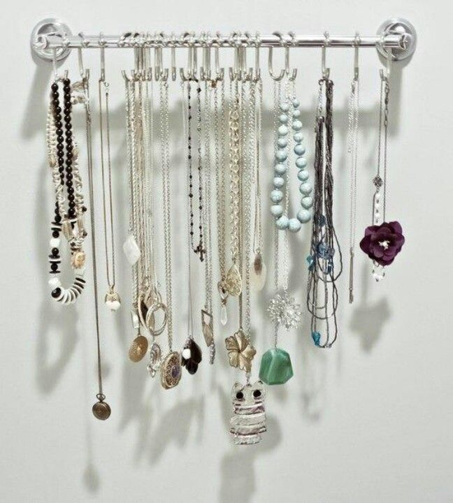 Jewellery display idea from First Step Fashion Display Pinterest