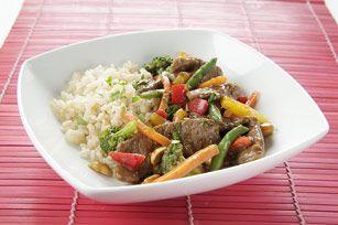 Beef & Peanut Stir-Fry   Recipe   Diabetes friendly recipes, Diabetic diet recipes, Healthy recipes