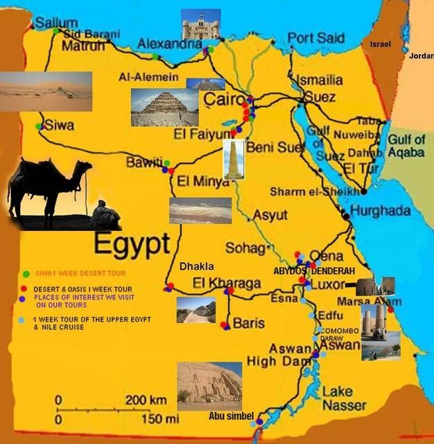 Awesome Map Of Egypt Tourist Travelquaz Pinterest - Map of egypt picture
